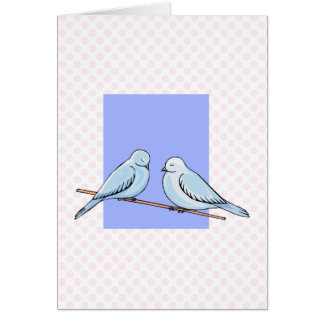 Dominick & Dominique Dove Greeting Card