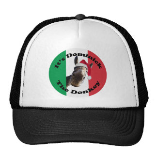 dominick the donkey cap