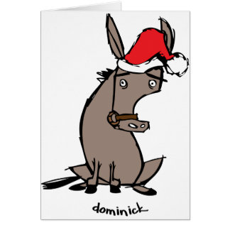 Dominick the Donkey Greeting Card