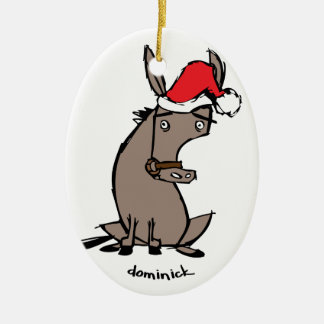 Dominick the Donkey Christmas Ornament