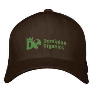 Dominion Organics fitted hat Embroidered Cap