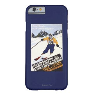 Dominion Ski Championship Poster Barely There iPhone 6 Case