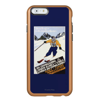 Dominion Ski Championship Poster Incipio Feather® Shine iPhone 6 Case