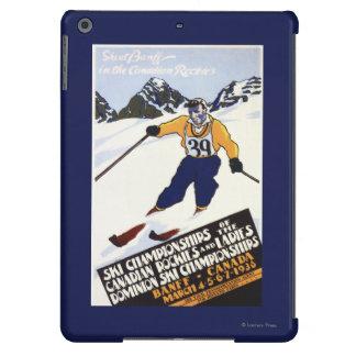Dominion Ski Championship Poster iPad Air Cases