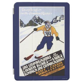 Dominion Ski Championship Poster iPad Air Cover