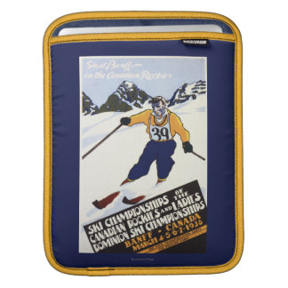 Dominion Ski Championship Poster Sleeves For iPads