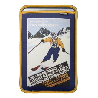 Dominion Ski Championship Poster MacBook Air Sleeve