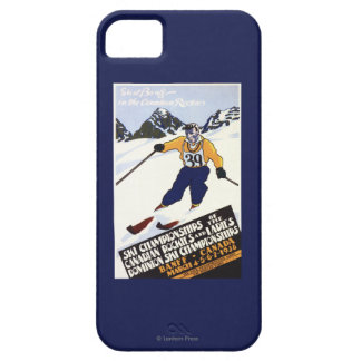 Dominion Ski Championship Poster iPhone 5 Covers