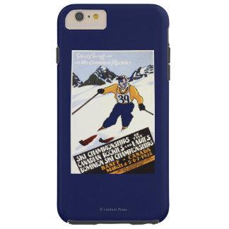 Dominion Ski Championship Poster Tough iPhone 6 Plus Case