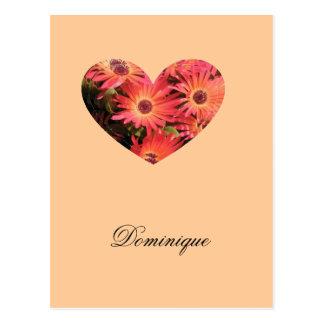 Dominique Postcard