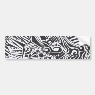 Domino Bumper Sticker