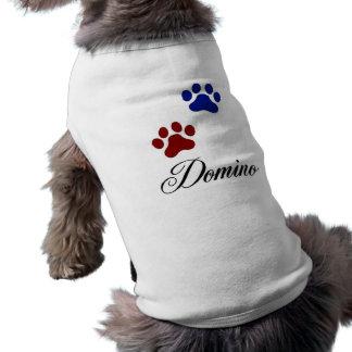 Domino Sleeveless Dog Shirt