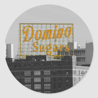 Domino Sugars Baltimore Classic Round Sticker