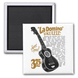 Domino Uke Ad Magnet