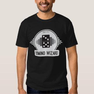 Domino Wizard Official Logo Shirt - Black