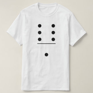 Dominoes 6-1 Group Costume T-Shirt