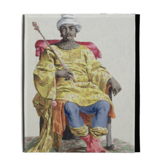 Don Alvares, King of the Congo, from 'Receuil des iPad Case