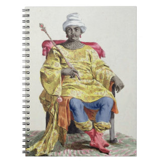 Don Alvares, King of the Congo, from 'Receuil des Notebook