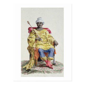 Don Alvares, King of the Congo, from 'Receuil des Postcard