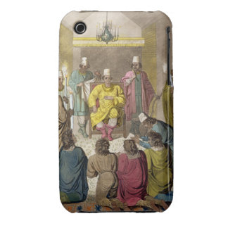 Don Alvaro, King of the Congolese on his Throne, p iPhone 3 Case