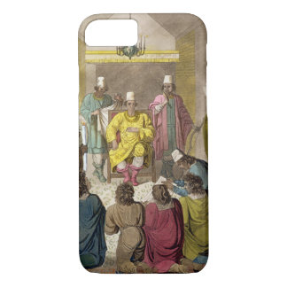 Don Alvaro, King of the Congolese on his Throne, p iPhone 8/7 Case