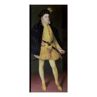 Don Carlos , son of King Philip II of Spain Poster