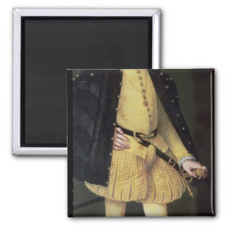 Don Carlos , son of King Philip II of Spain Square Magnet