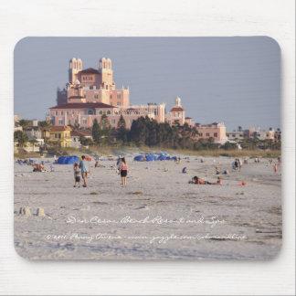 Don Cesar - Florida's Pink Castle Mouse Pad