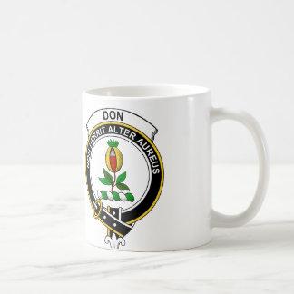 Don Clan Badge Basic White Mug