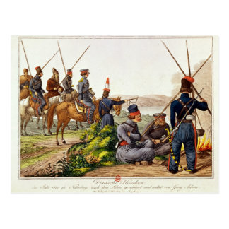 Don Cossacks in 1814 Postcard