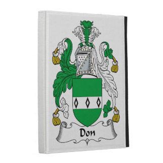 Don Family Crest iPad Case