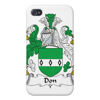 Don Family Crest iPhone 4 Cover