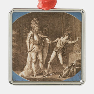 Don Giovanni and the statue of the Commandantore Christmas Ornament