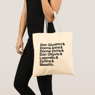 Don Giovanni cast of characters tote