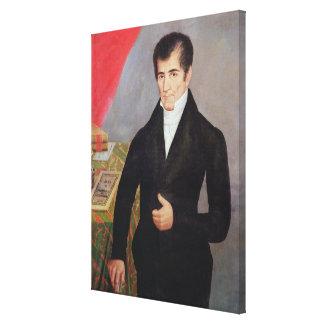 Don Jose Cecilio del Valle Canvas Print