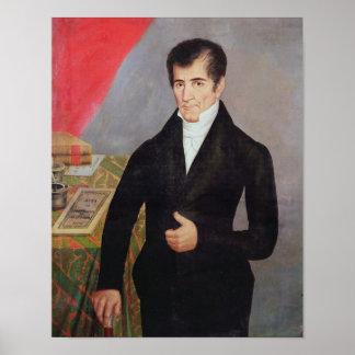 Don Jose Cecilio del Valle Poster