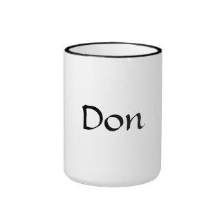 """""""Don"""" mug"""