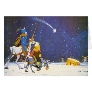 DON QUIJOTE - ¡Feliz Navidad!  - Tarjeta Navidad Greeting Card