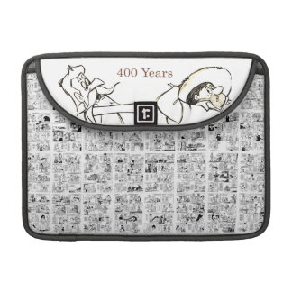 DON QUIJOTE & SANCHO - 400 Years Sleeve For MacBook Pro