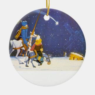DON QUIXOTE - Adorno de Navidad Round Ceramic Decoration