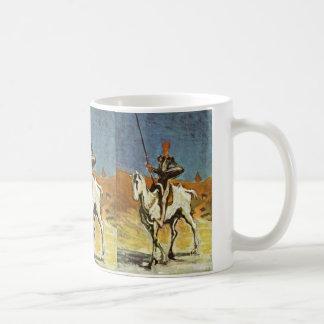 Don Quixote And Sancho Panza By Daumier Honoré (Be Mug