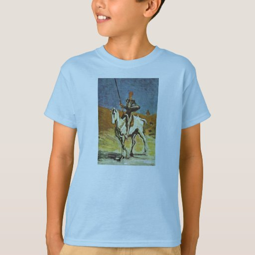 Don Quixote And Sancho Panza By Daumier Honoré (Be Tee Shirt