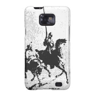Don Quixote and Sancho Panza Galaxy SII Covers