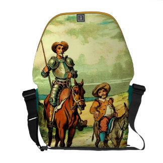 Don Quixote and Sancho Panza Messenger Bags