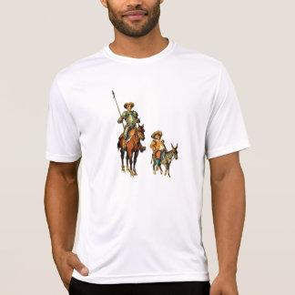 Don Quixote and Sancho Panza T-shirts