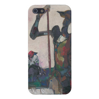 Don Quixote and Sancho Stanislav Stanek iPhone 5/5S Cases