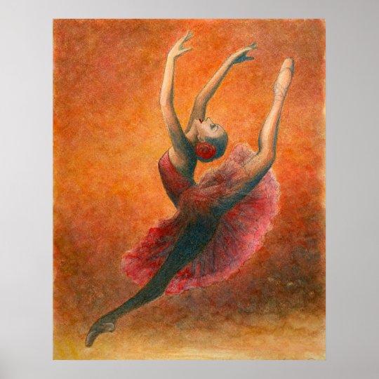 Don Quixote Ballet Art Print