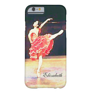 Don Quixote Ballet Ballerina Personalized Barely There iPhone 6 Case