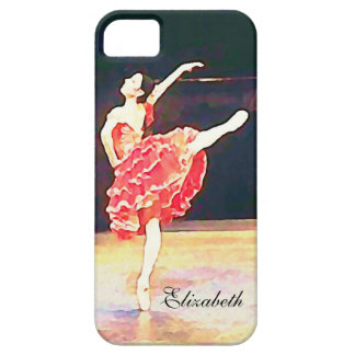 Don Quixote Ballet Ballerina Personalized iPhone 5 Case