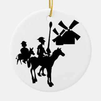 Don Quixote Christmas Ornament